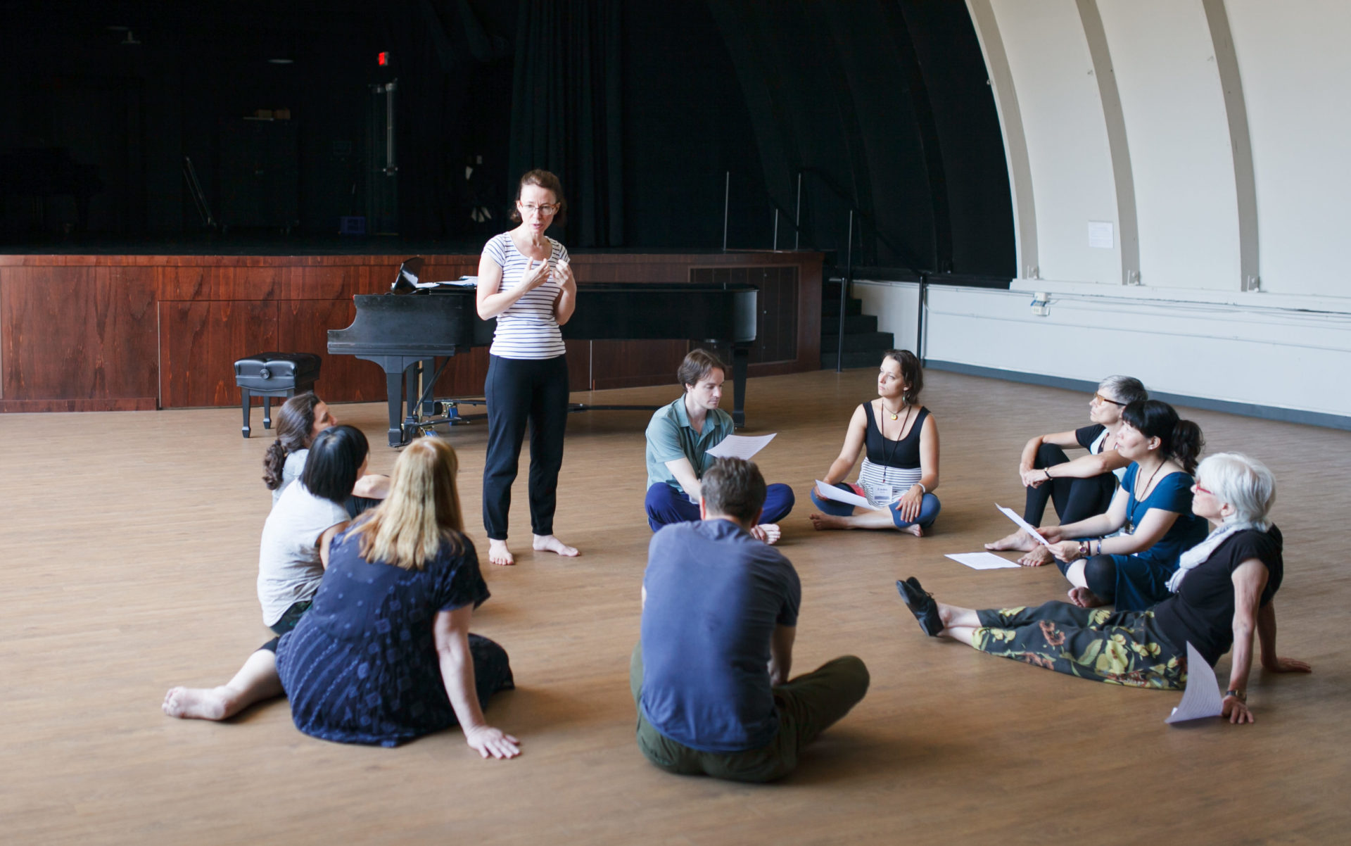 The Dalcroze approach allows for incredible variety in teaching styles and methods.