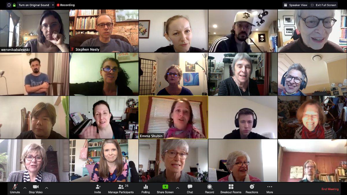Virtual Dalcroze Meet-Up